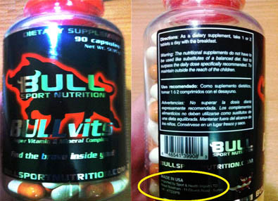 Producto BULL Sport Nutrition