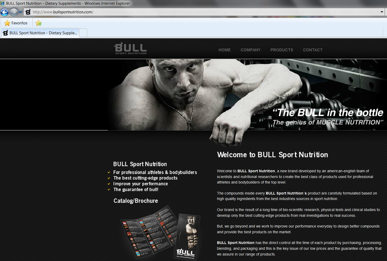 ESTAFA!!!  Web BULL Sport Nutrition