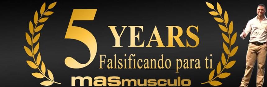MASmusculo celebra 5 años falsificando y estafando