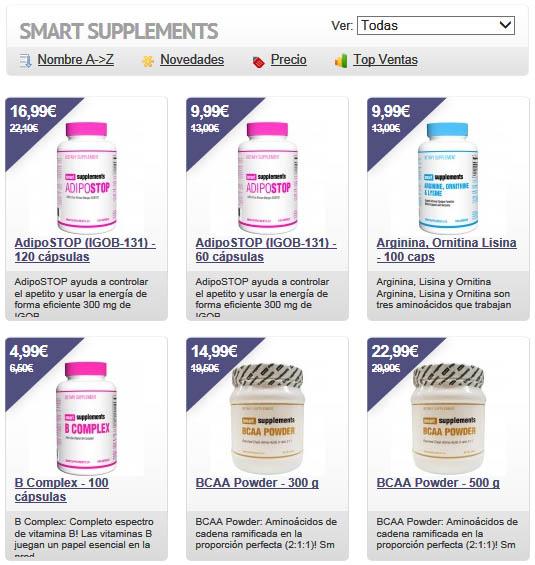 Venta de Smart Supplements Masmusculo Estafa