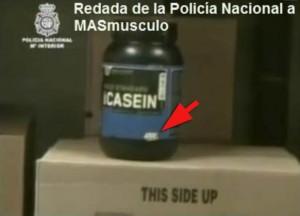 Productos Optimum Nutrition Redada Policía a Masmusculo